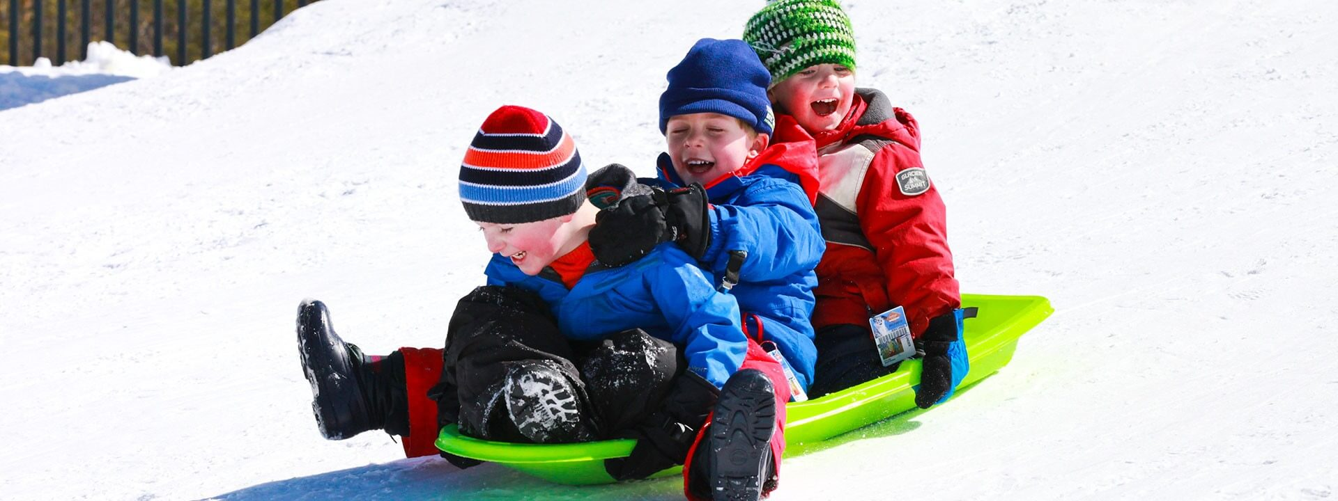 Guide to Sledding and Tubing