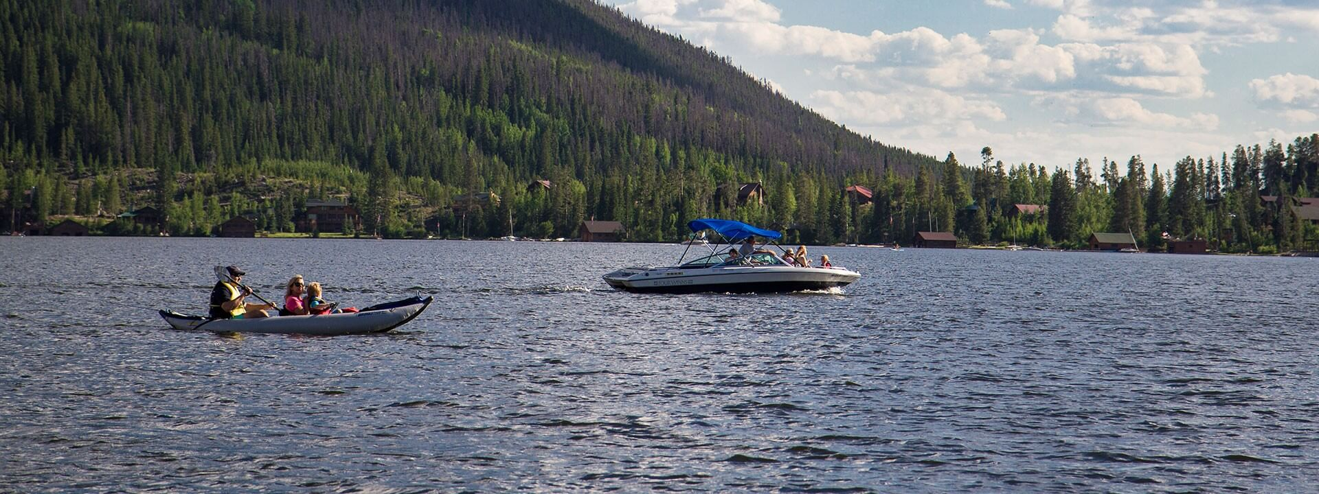 Guide to Boating on Grand County's Lakes